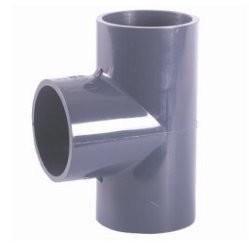 200mm plain 90 degree pvc tee for pressure pipe systems. Black Bedroom Furniture Sets. Home Design Ideas