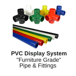 Furniture grade pipe and fittings white pvc inch USA manufactured