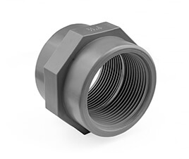 Inch ABS Threaded Socket