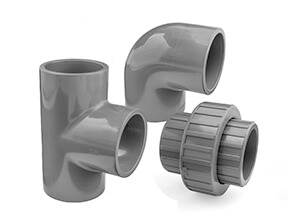 Inch Plain ABS Fittings
