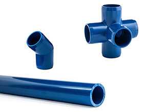 Blue Furniture PVC Pipe and Fittings
