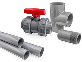 CPVC Corzan Inch Pipe and fittings