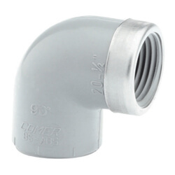 Reinforced Threaded FNPT 90 Elbow