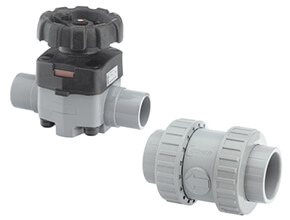 Metric Plain CPVC Corzan Valves