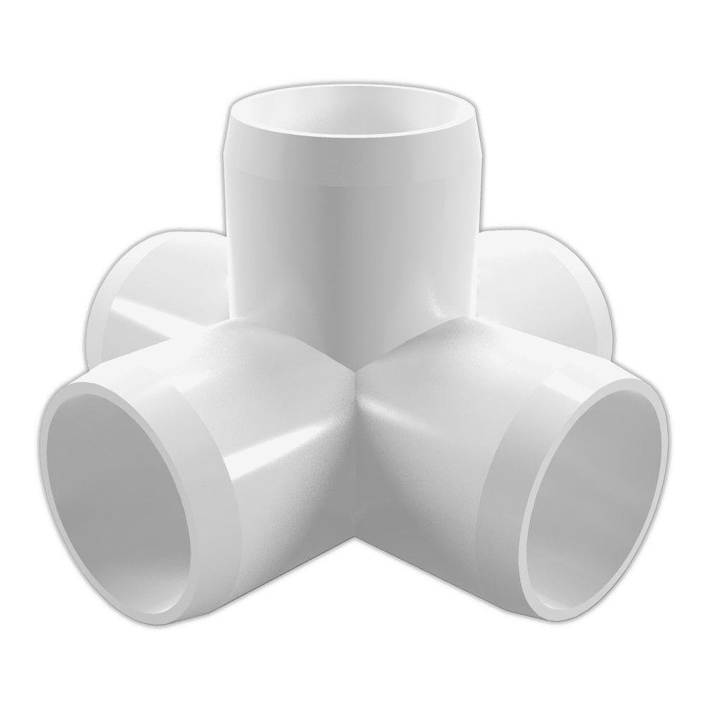 Furniture Grade Pvc: Display Grade White PVC Pipe And Fittings
