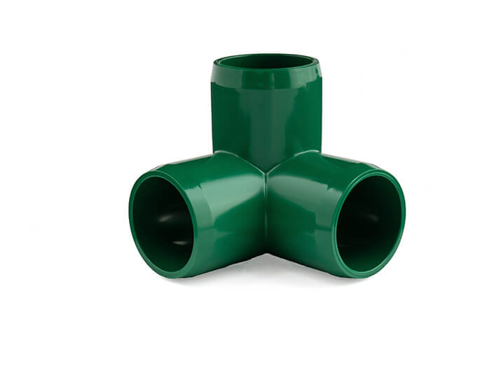 3/4 Inch Green 3-Way Elbow