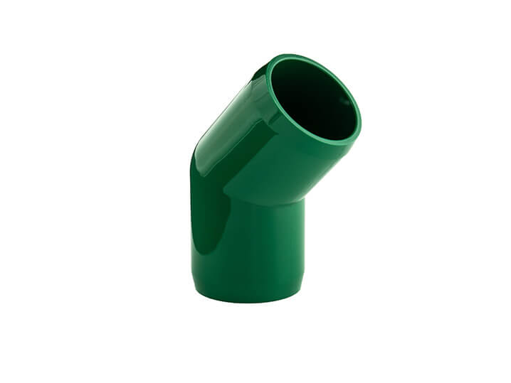 3/4 Inch Green 45 Elbow