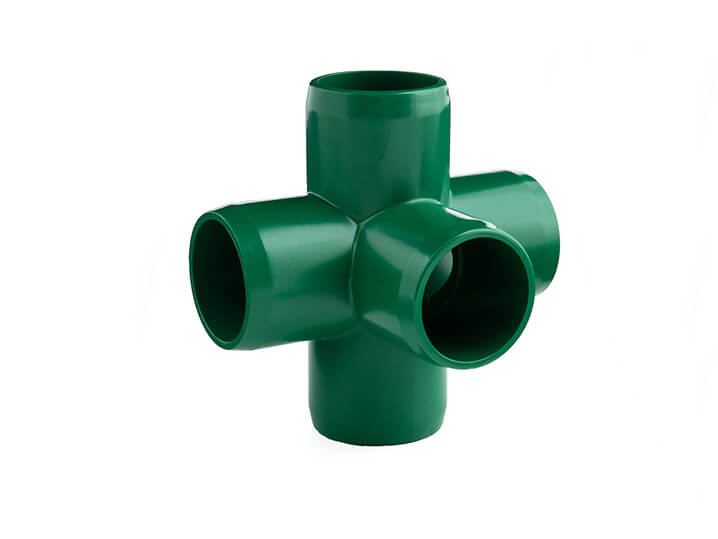 3/4 Inch Green 5-Way Elbow