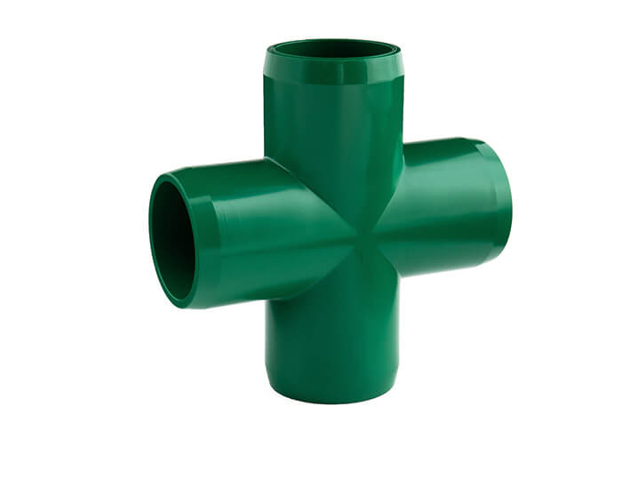 3/4 Inch Green Cross