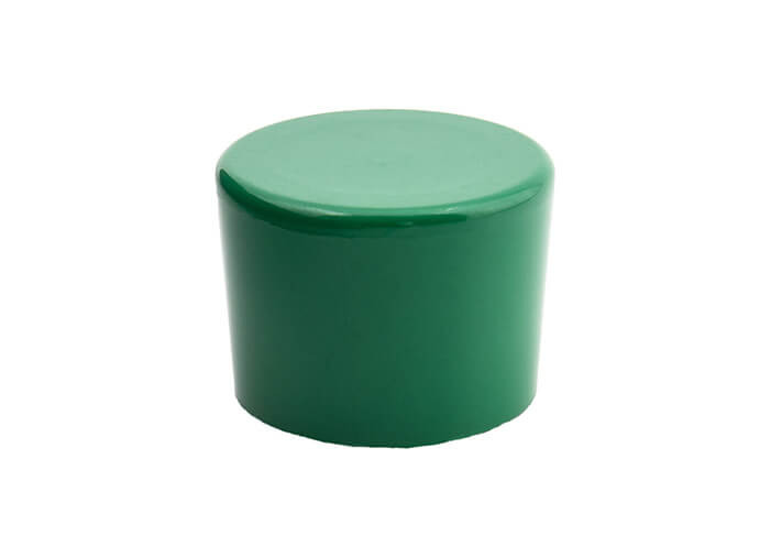3/4 Inch Green End Cap