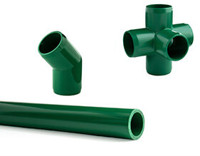 Green Furniture PVC Pipe and Fittings