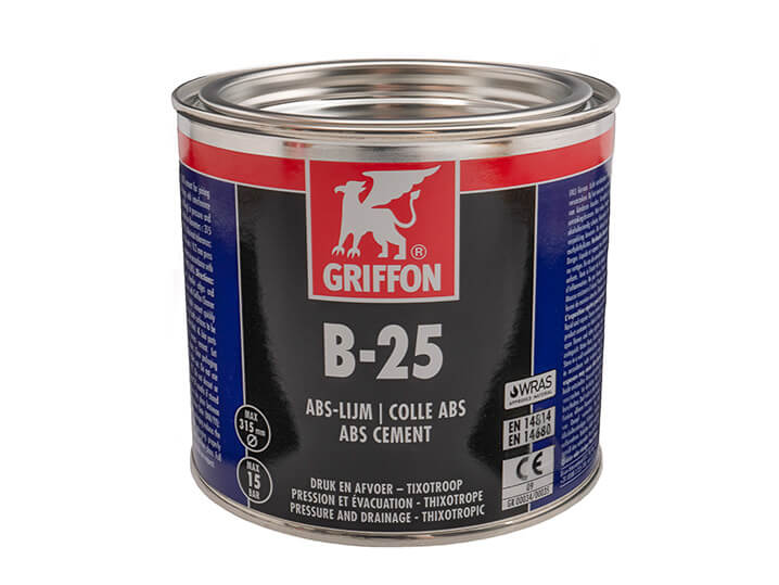 Griffon B25 ABS Cement 500ml Tin