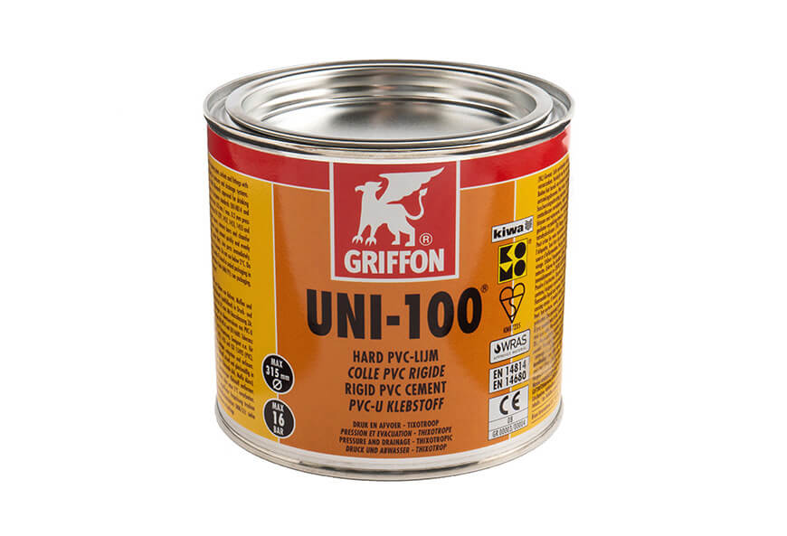 Griffon Uni-100 PVC Cement 500ml tin