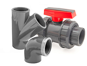 Inch (Imperial) PVC Fittings and Valves