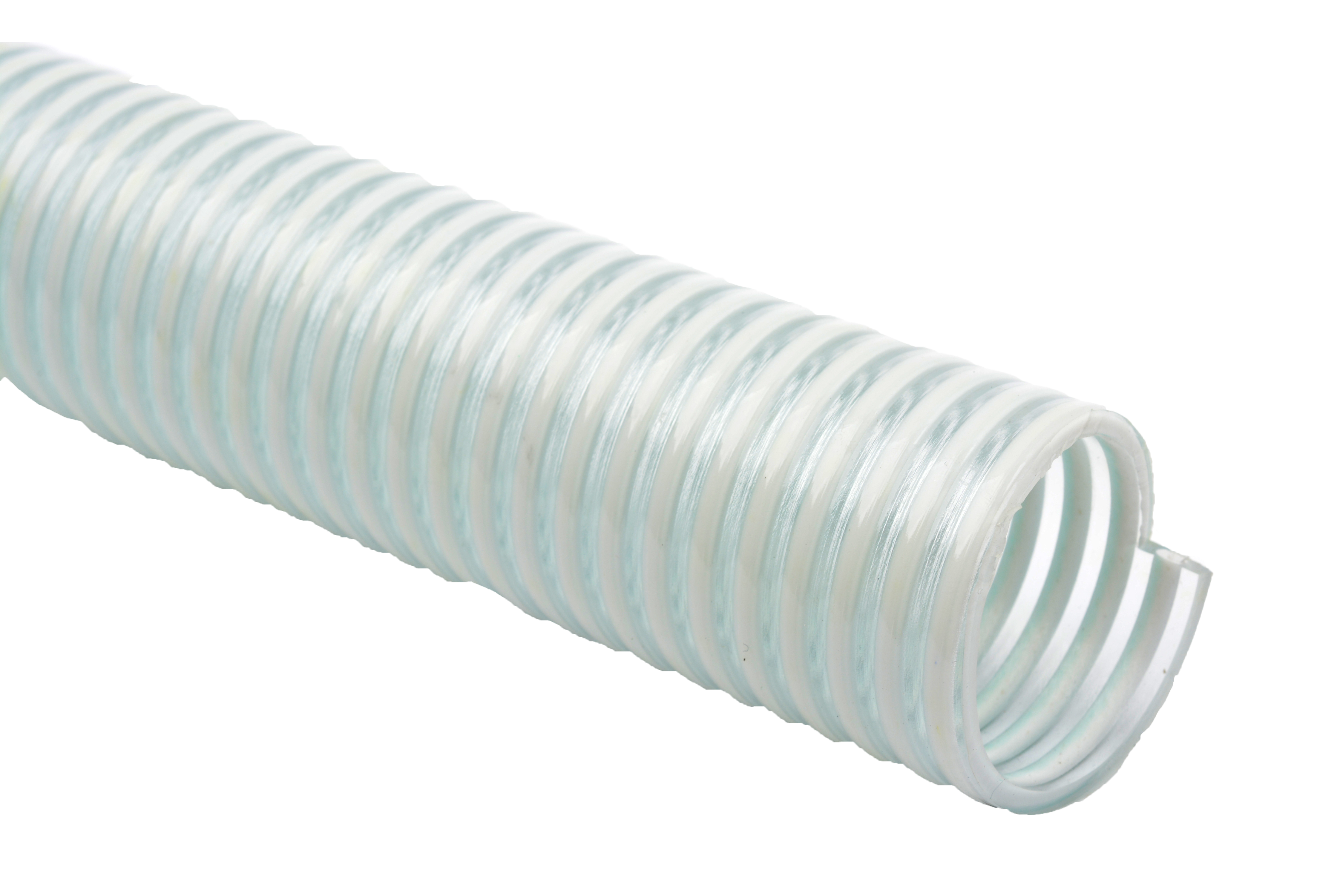 Non-Toxic Clear White Spiral