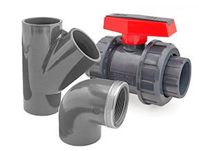 Metric PVC Fittings and Valves