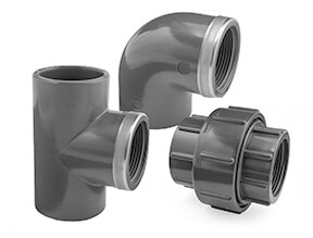 Metric Plain to Threaded Fittings