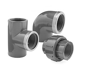 Inch Plain to Threaded Fittings