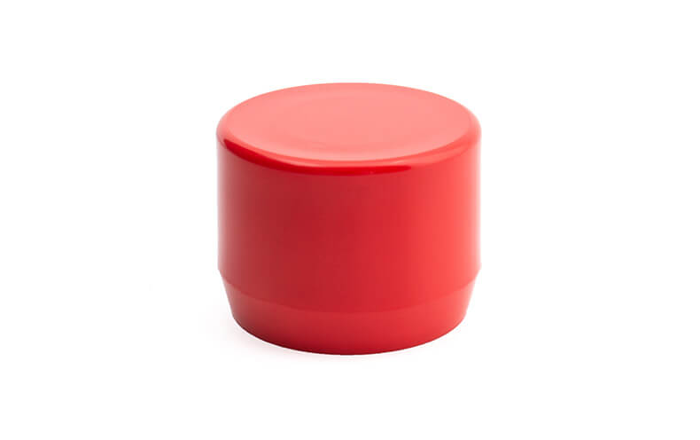 3/4 Inch Red End Cap