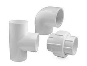 White PVC Inch Fittings for Swimming Pools