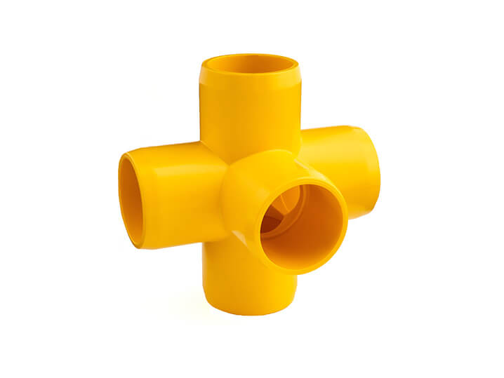 3/4 Inch Yellow 5-Way Elbow