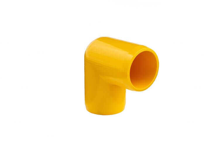 3/4 Inch Yellow 90 Elbow