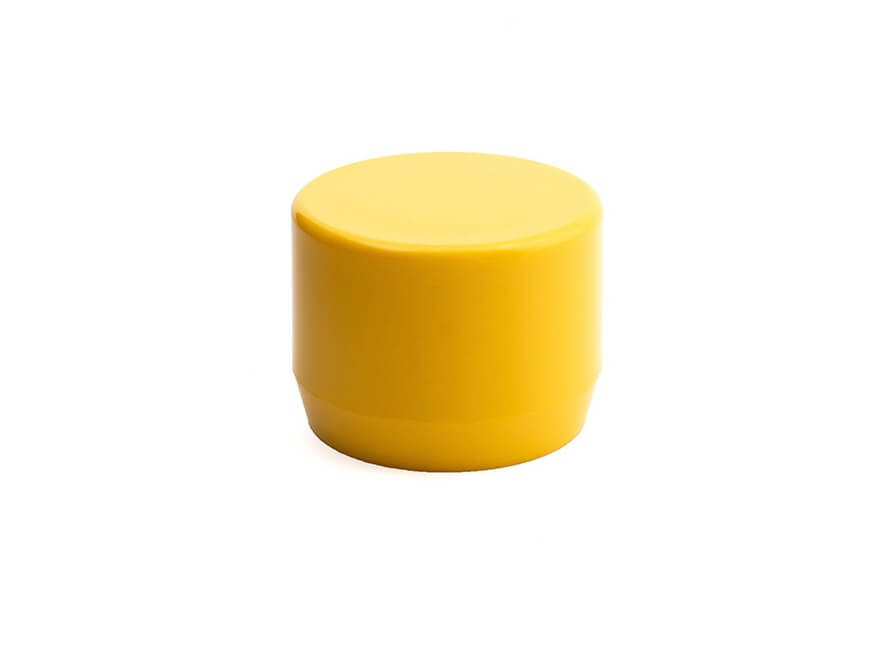 3/4 Inch Yellow End Cap