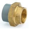 Inch ABS Plain to FBSP Brass Composite Union