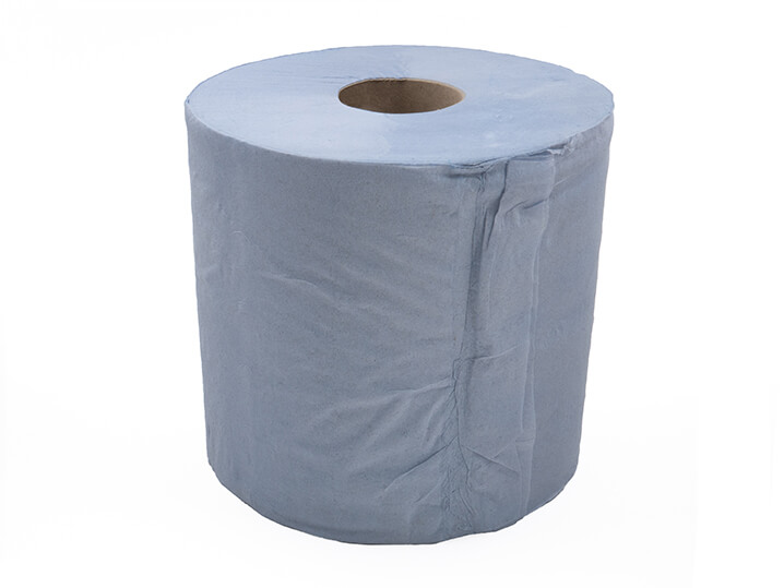 Centre-pull paper towel roll