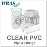 clear plastic pipe and fittings