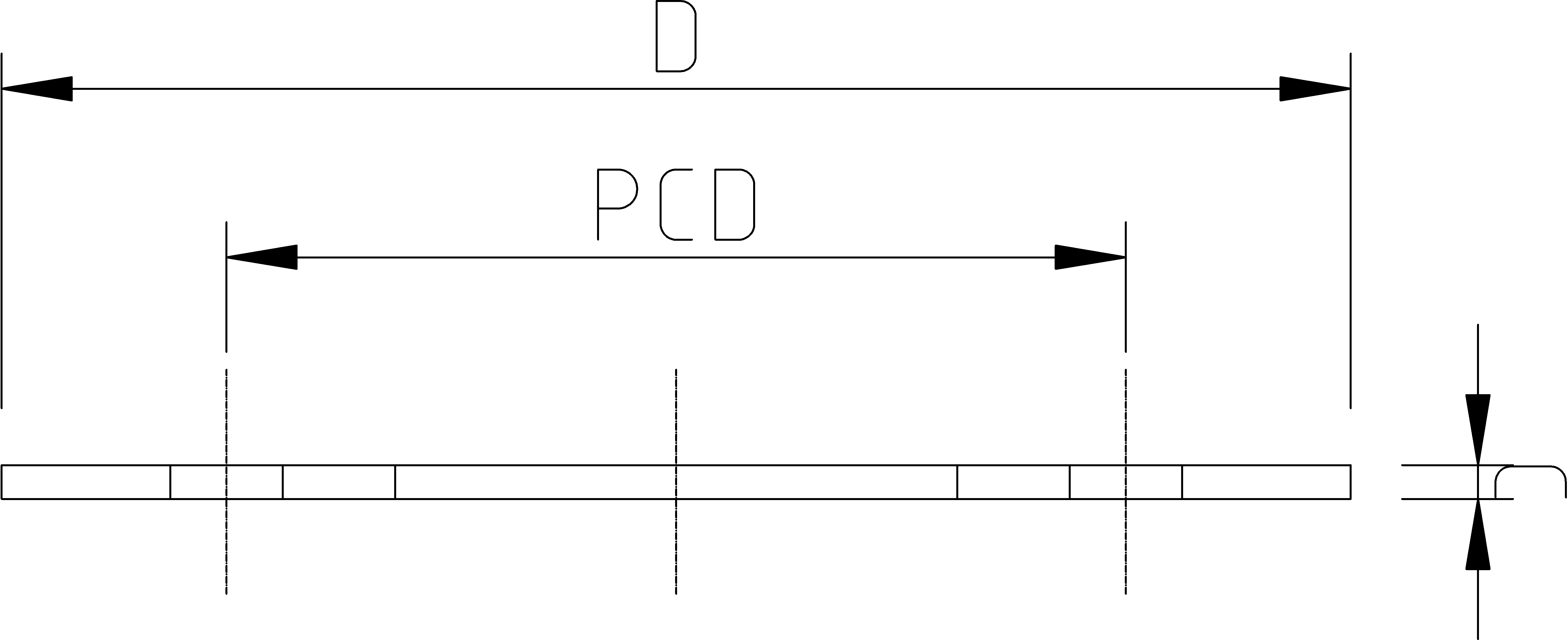 3/4 Inch Galvanised Backing Ring Dimensions Drawing