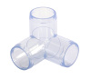 Imperial Clear 3 Way Elbow
