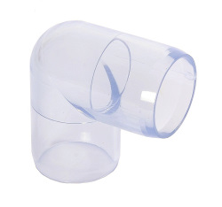 1/2'' Clear PVC 90 degree elbow