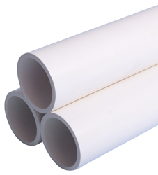 White Industrial Sch40 Pipe
