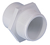 Plain - Threaded White Fittings