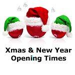 Xmas opening hours