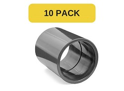 "10 Pack - 3/4"" Plain PVC Socket"