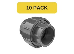 "10 Pack - 1"" Plain PVC Union EPDM O-ring"