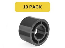 10 Pack - 40x32mm Plain PVC Reducing bush