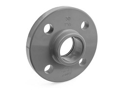 "2"" ABS Plain Full Face Flange drilled PN10/16"