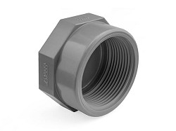 "1 1/4"" ABS Threaded Cap"