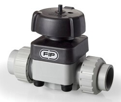 20mm Corzan CPVC Diaphragm Valve EPDM Union End
