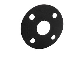 "1"" Full Face Flange Gasket EPDM PN10/16 PCD 85mm"