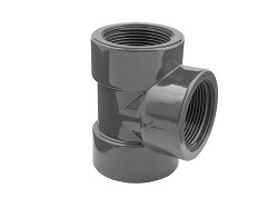 "1/2"" Threaded BSP PVC Tee"