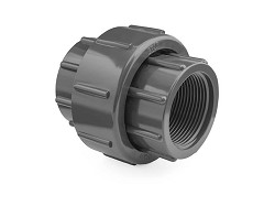 "1"" Threaded BSP PVC Union EPDM O-ring"