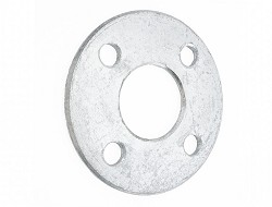 "1 1/2"" - 50mm Galvanised Backing Ring (M16 4 hole PN10/16 drilling PCD 110mm)"