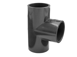 315mm Plain 90 Degree PVC Tee