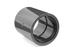 "4"" : 110mm Plain PVC Metric : Imperial Adaptor Socket"