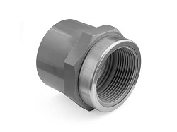 "1"" ABS Plain/Threaded Socket reinforced"