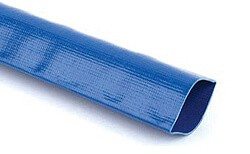 Blue Layflat Hose 51mm (2 Inch) 4 bar 100m coil